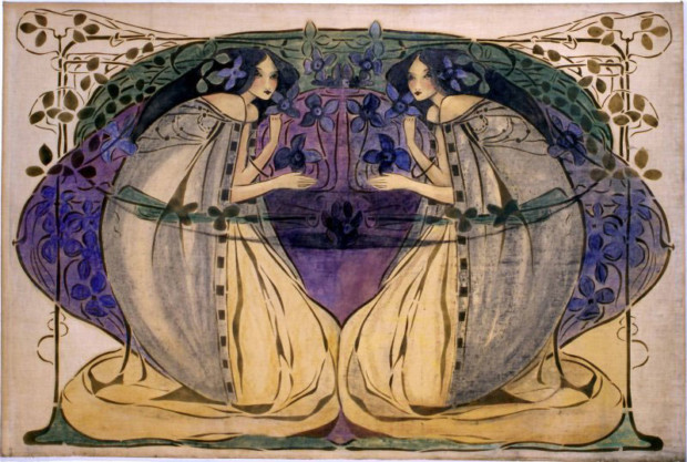 Frances MacDonald, Spring, The Hunterian Museum and Art Gallery, University of Glasgow