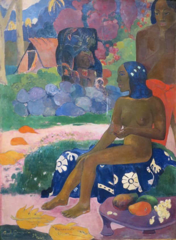 Paul Gauguin, Vairaumati téi oa (Her Name was Vairaumati), 1892, Pushkin Museum, Moscow Shchukin collection