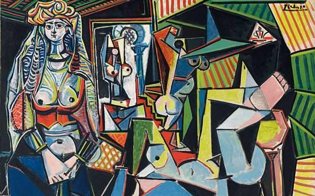 Pablo Picasso, Women of Algiers, version O