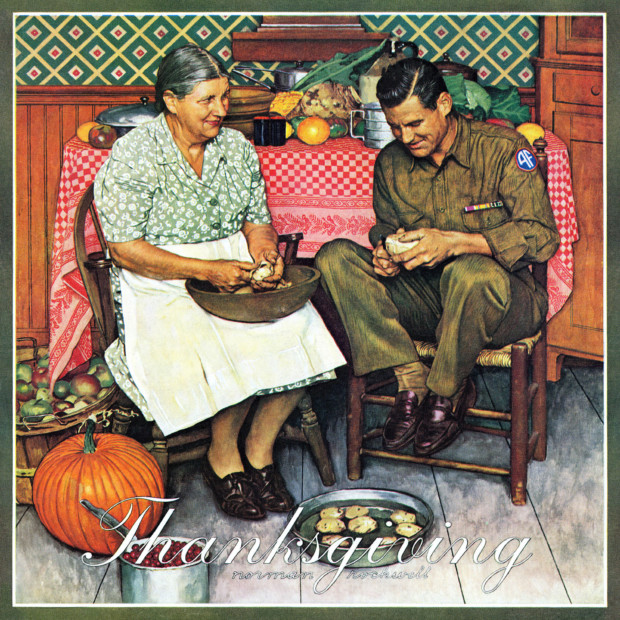 Norman Rockwell, Home for Thanksgiving, 1945, Norman Rockwell Museum