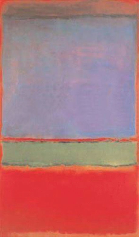 Mark Rothko, No 6. (Violet, Green and Red), 1951, Private collection