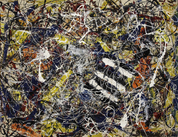 Jackson Pollock, Number 17A, 1948, Private collection