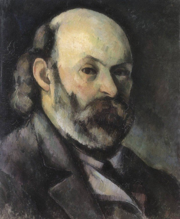Paul Cézanne, Self-Portrait, 1882, Pushkin Museum, Moscow