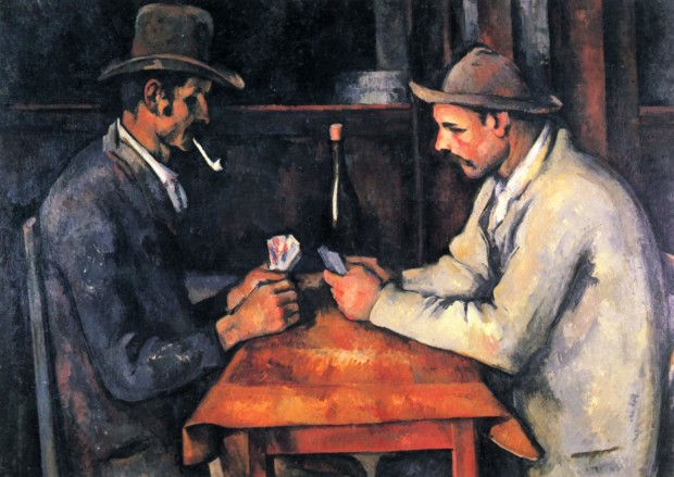 Paul Cezanne, The Card players, 1893, Private Collection