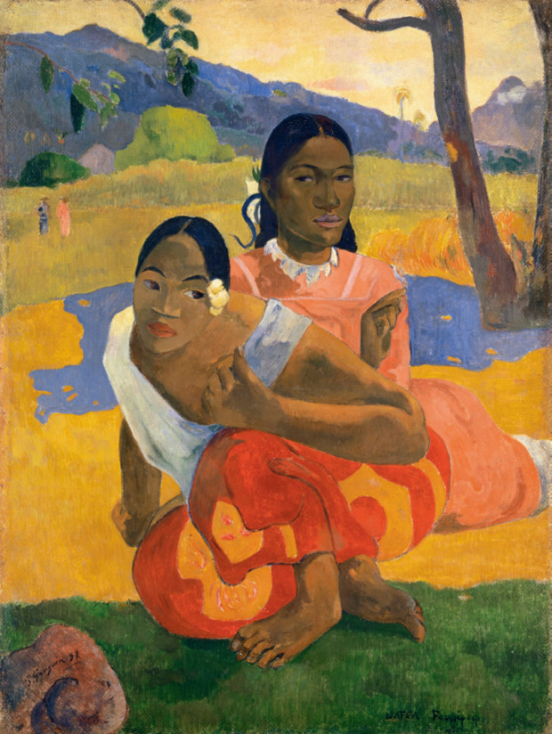 Paul Gauguin, Nafea Faa Ipoipo? (When Will You Marry?) 1892, Private collection
