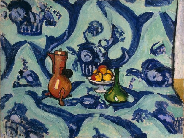 Henri Matisse, Still-life with a Blue Tablecloth, 1906, Hermitage Museum, Saint Petersburg
