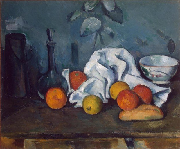 Paul Cézanne, Fruits, 1879-80, Hermitage Museum, Saint Petersburg