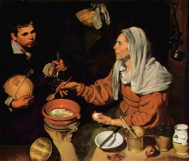 Diego Velazquez, Old Woman Cooking Eggs, 1618, National Gallery, Edinburgh