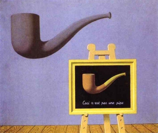Reneé Magritte, The Two Mysteries, 1966, private collection