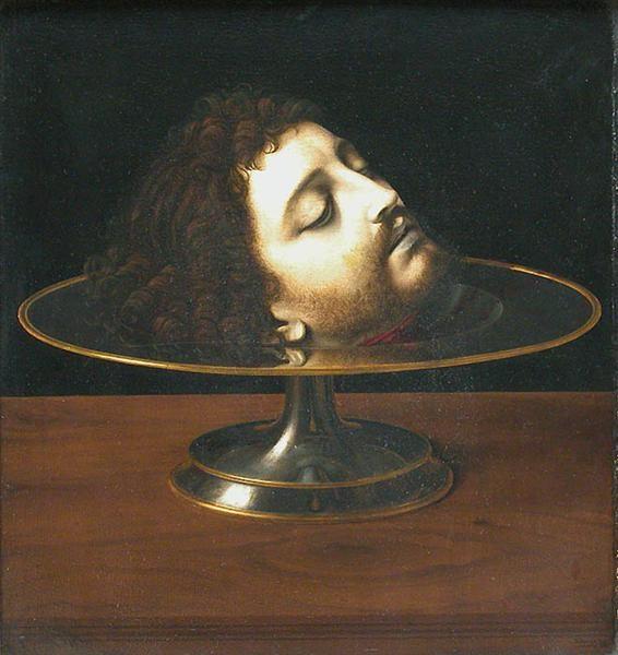 Andrea Solario, The Head of Saint John the Baptist, 1507.