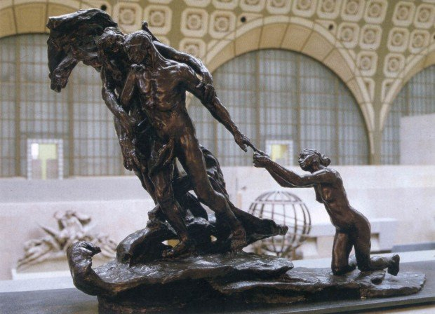 Camille Claudel, Maturity, ca. 1902, Musée d'Orsay, Paris, France. Photo by Thierry Ollivier.