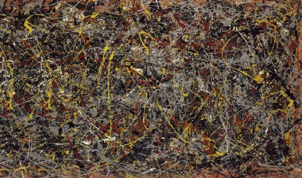 Jakson Pollock, Number 5, 1948, 1948, Private collection