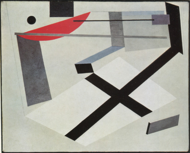 El Lissitzky, PROUN 30-T (1920), private collection