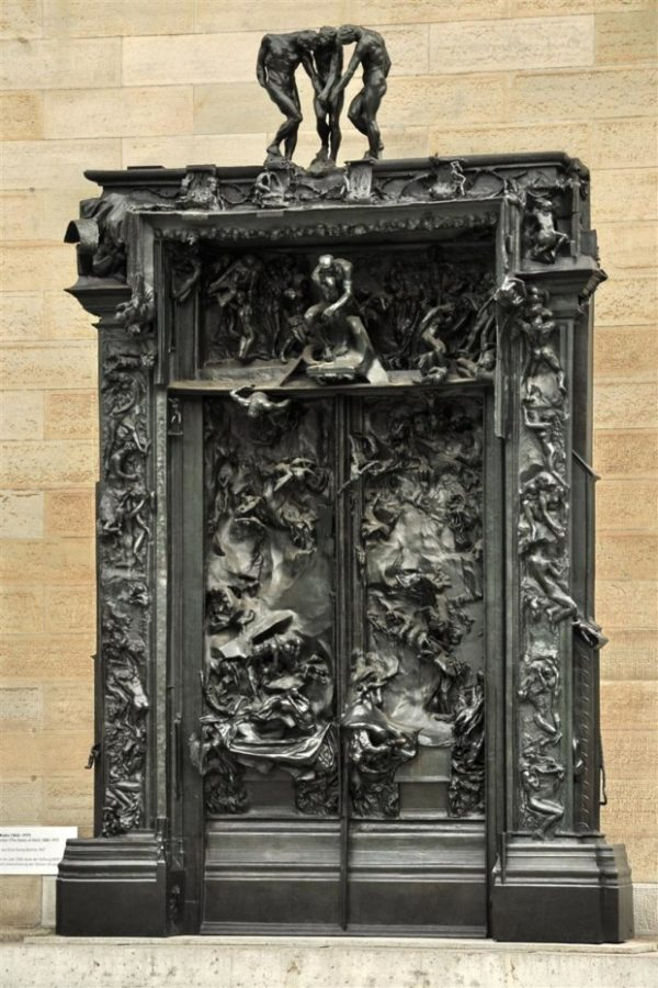 Auguste Rodin, The Gates of Hell, 1917, Kunsthaus Zürich, Zürich, Switzerland