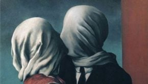 René Magritte, The Lovers II, 1928