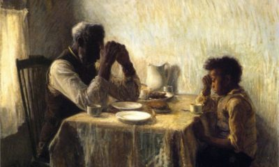 Henry Ossawa Tanner, The Thankful Poor, 1894, private collection