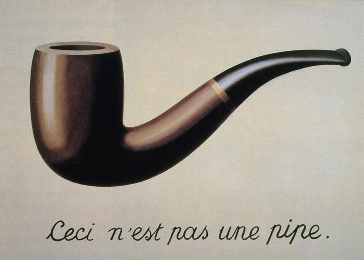 Painting Of The Week - René Magritte, The Treachery of Images -  DailyArtMagazine.com - Art History Stories