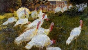 Claude Monet, The Turkeys, 1876, Musée d'Orsay