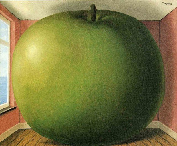 René Magritte, The Listening Room, 1952, Menil Collection, Houston, Texas