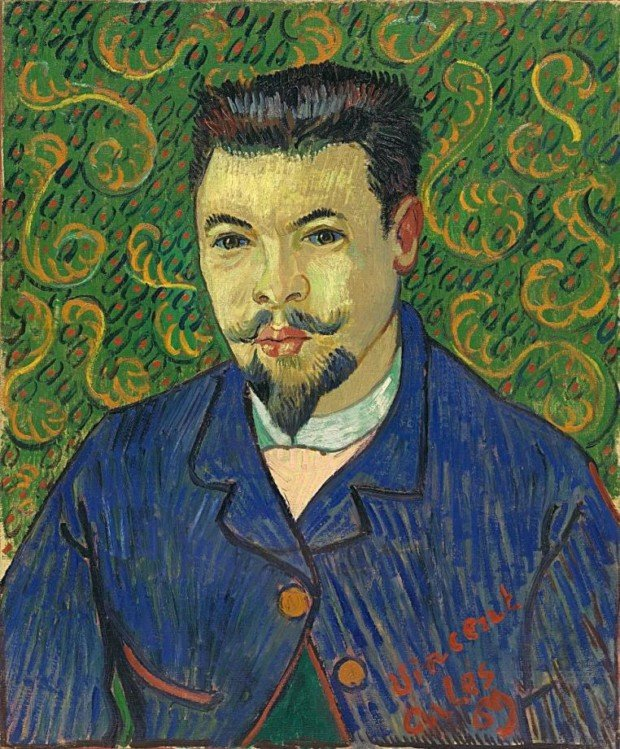 Vincent van Gogh, Portrait of Doctor Ray, 1889, Pushkin Museum, Moscow