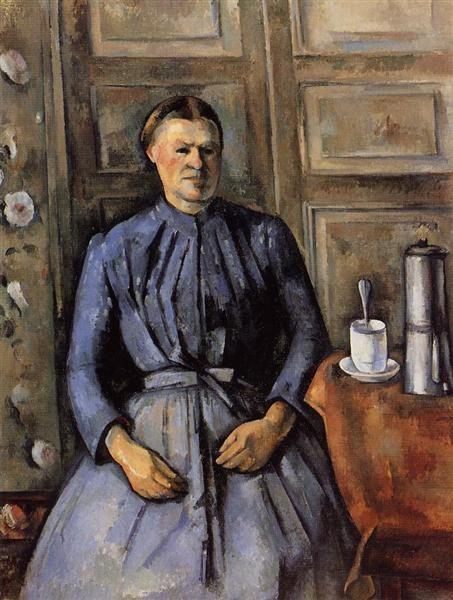 Paul Cezanne, Woman With A Coffee Pot, 1895, Musée d'Orsay, Paris