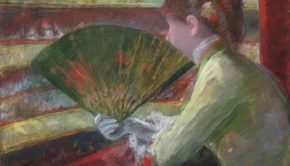 Mary Cassatt, In the Loge, c. 1879, Philadelphia Museum of Art
