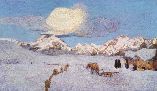 Giovanni Segantini, Death, 1898-1899, Segantini Museum, St. Moritz