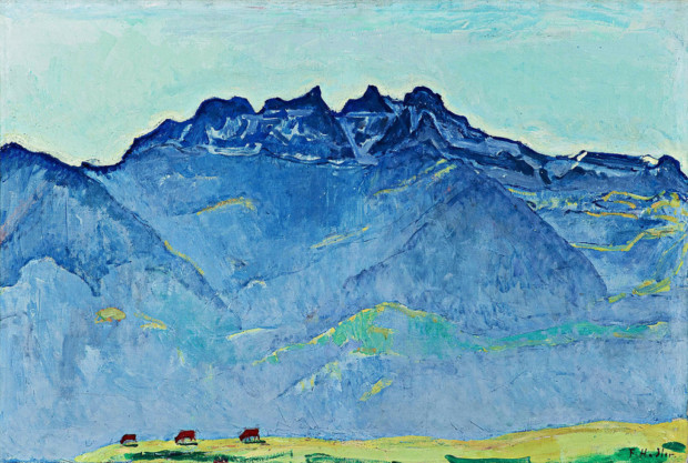 Ferdinand Hodler The Dents du Midi from Champéry 1916 Nestlé Art Collection