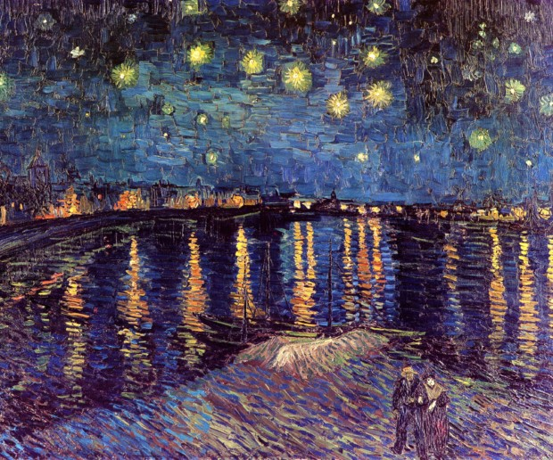 Vincent van Gogh, Starry Night over Rhone, 1898, Musée d'Orsay