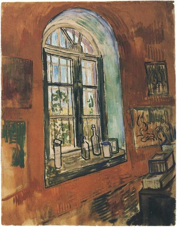 Vincent van Gogh, Window of Studio at the Asylum, 1899, Van Gogh Museum, Amsterdam