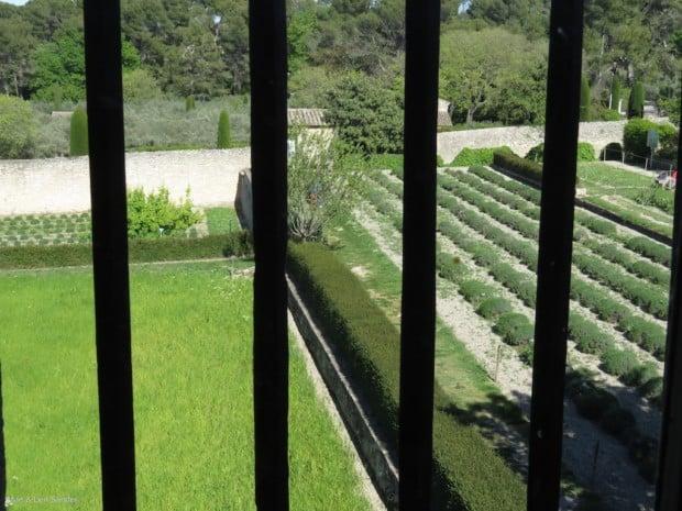 Van Gogh's window in an asylum