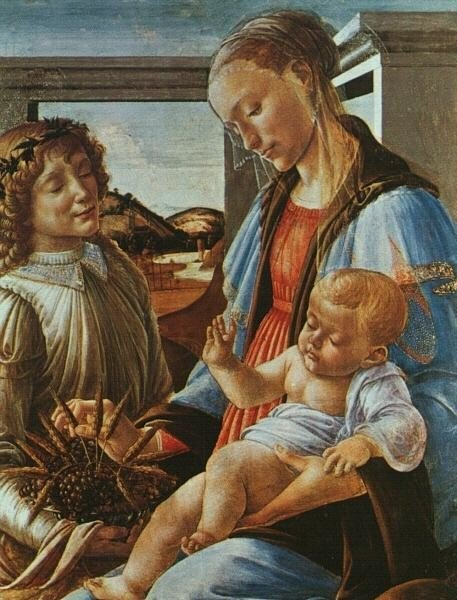 Sandro Botticelli, Madonna And Child With An Angel, Isabella Stewart Gardner Museum (Fenway Court), Boston, MA, US