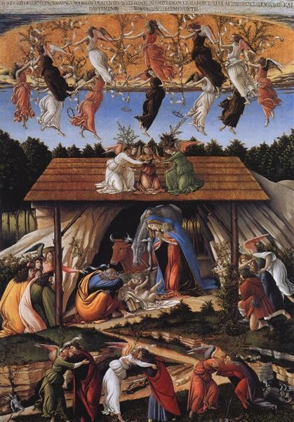 Sandro Botticell, The Mystical nativity, 1500
