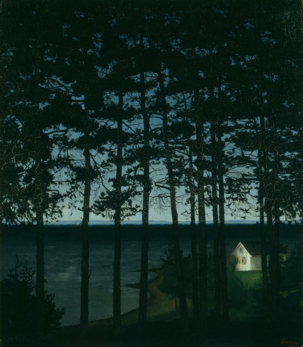 Harald Sohlberg, Fisherman's Cottage, 1906, Art Institute of Chicago