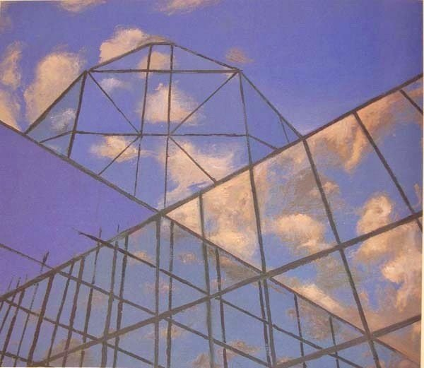 Elsie B. Driggs , The Javits Centre, 1986, private collection