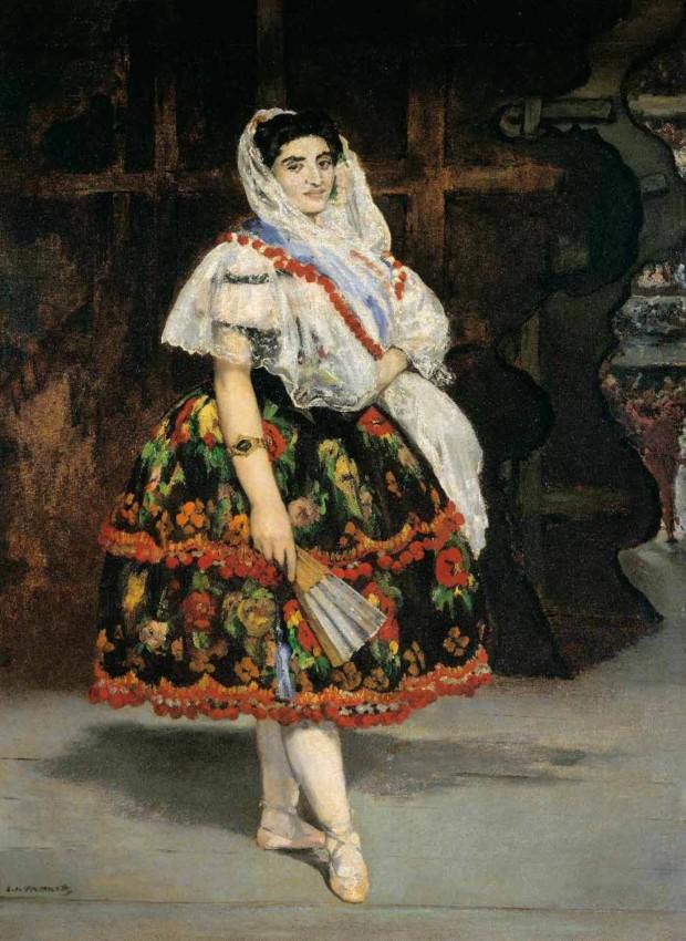 Édouard Manet, Lola de Valence, 1862, Musée d'Orsay
