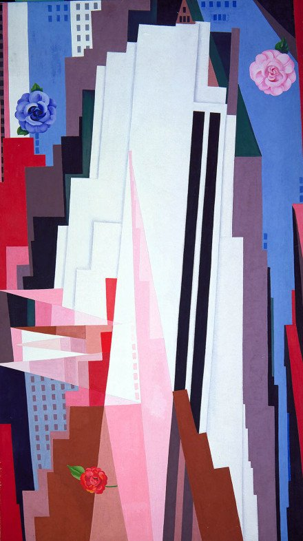 Georgia O'Keeffe, Manhattan, 1932, Smithsonian American Art Museum Gift of the Georgia O'Keeffe Foundation