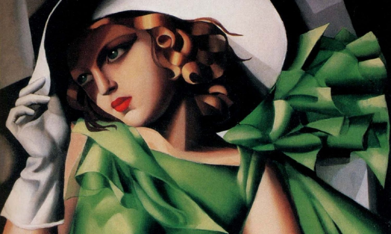 tamara de lempicka, the first woman artist to be a glamour star