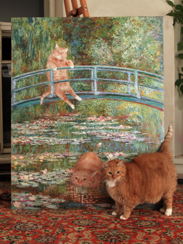 Zarathustra and Monet. Source: https://fatcatart.com