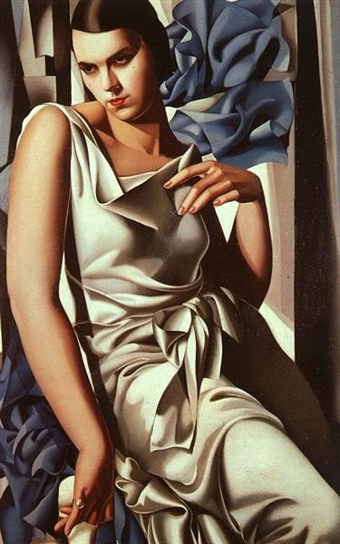 Tamara de Lempicka, Portrait of Madame M, 1930, Private collection