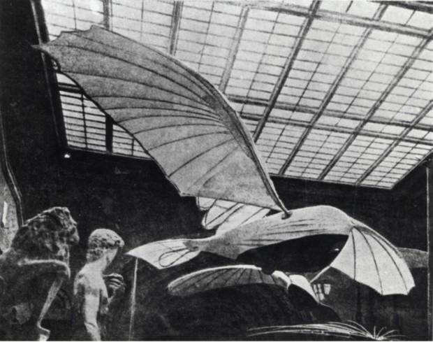 Vladimir Tatlin, Letatlin, in situ at the Exhibition of the Honored Art Worker V. Ye. Tatlin, 1932.