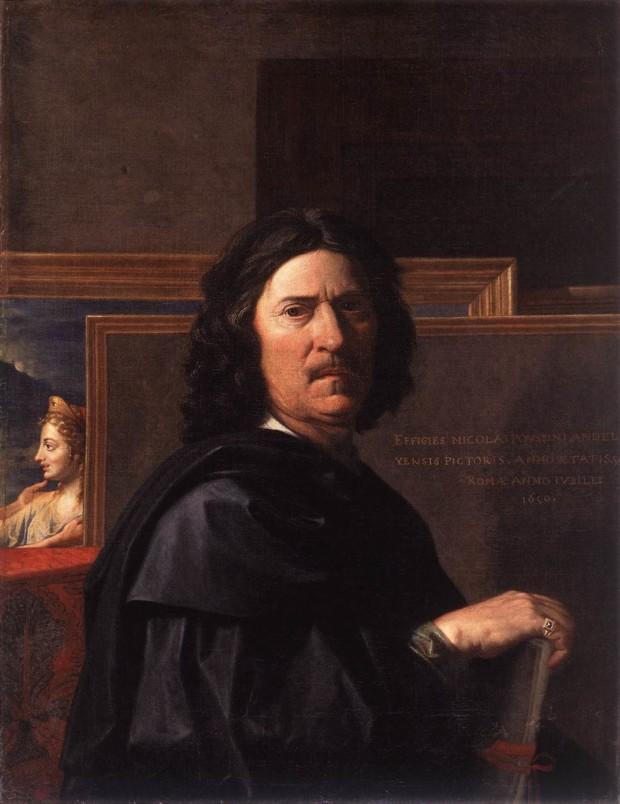 Nicolas Poussin, Self Portrait, 1650, Musée du Louvre, Paris