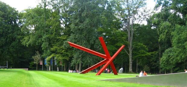 The sculpture garden at Kröller-Müller Museum