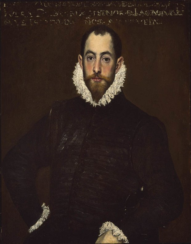 El Greco, Portrait of a Man of the House of Leiva, About 1580-1585, The Montreal Museum of Fine Arts