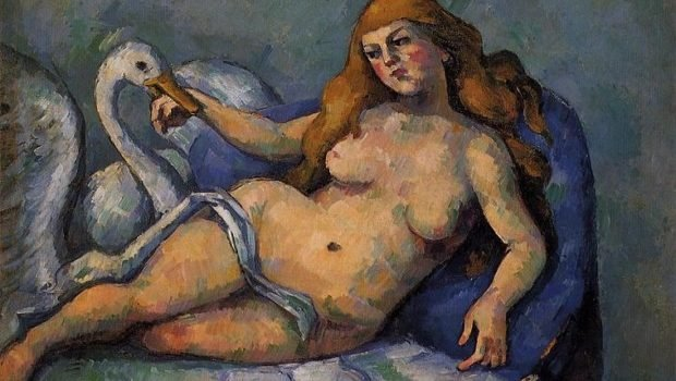Paul Cezanne, Leda and the Swan, 1882, Barnes Foundation