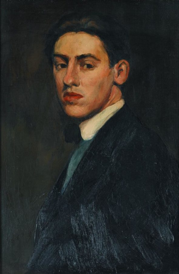 Demuth - Self Portrait - portrait