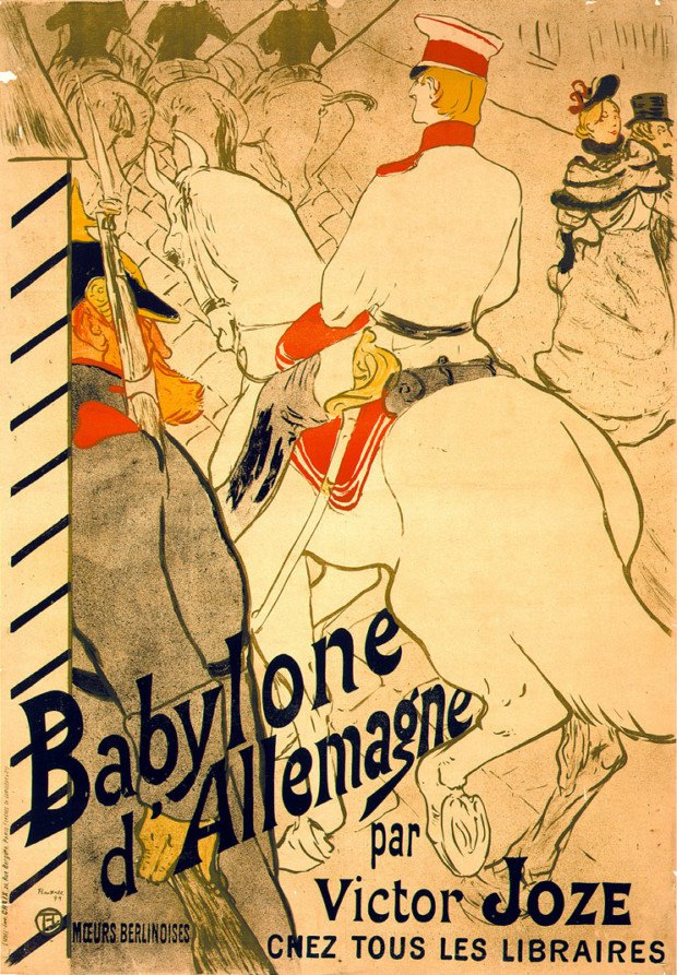 Henri de Toulouse-Lautrec, Babylone d'Allemagne 1894