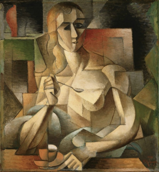 Jean_Metzinger,_Le_goûter,_Tea_Time,_1911,_75.9_x_70.2_cm,_Philadelphia_Museum_of_Art