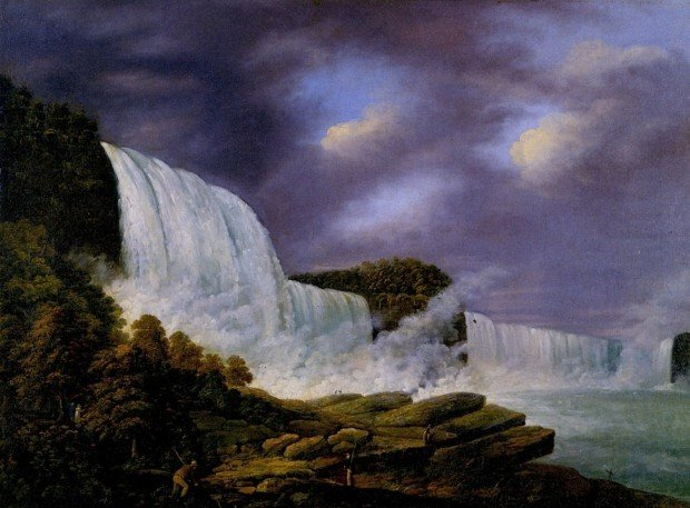 Niagara Falls from the American Side by Louisa Davis Minot