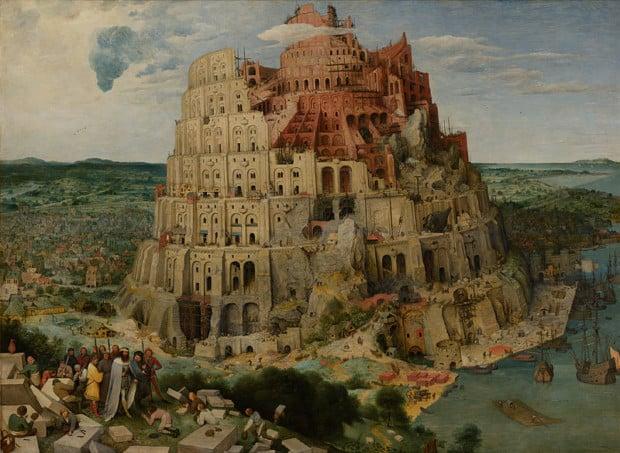 Pieter Brueghel the Elder, The Tower of Babel, c. 1563, Kunsthistorisches Museum, Vienna